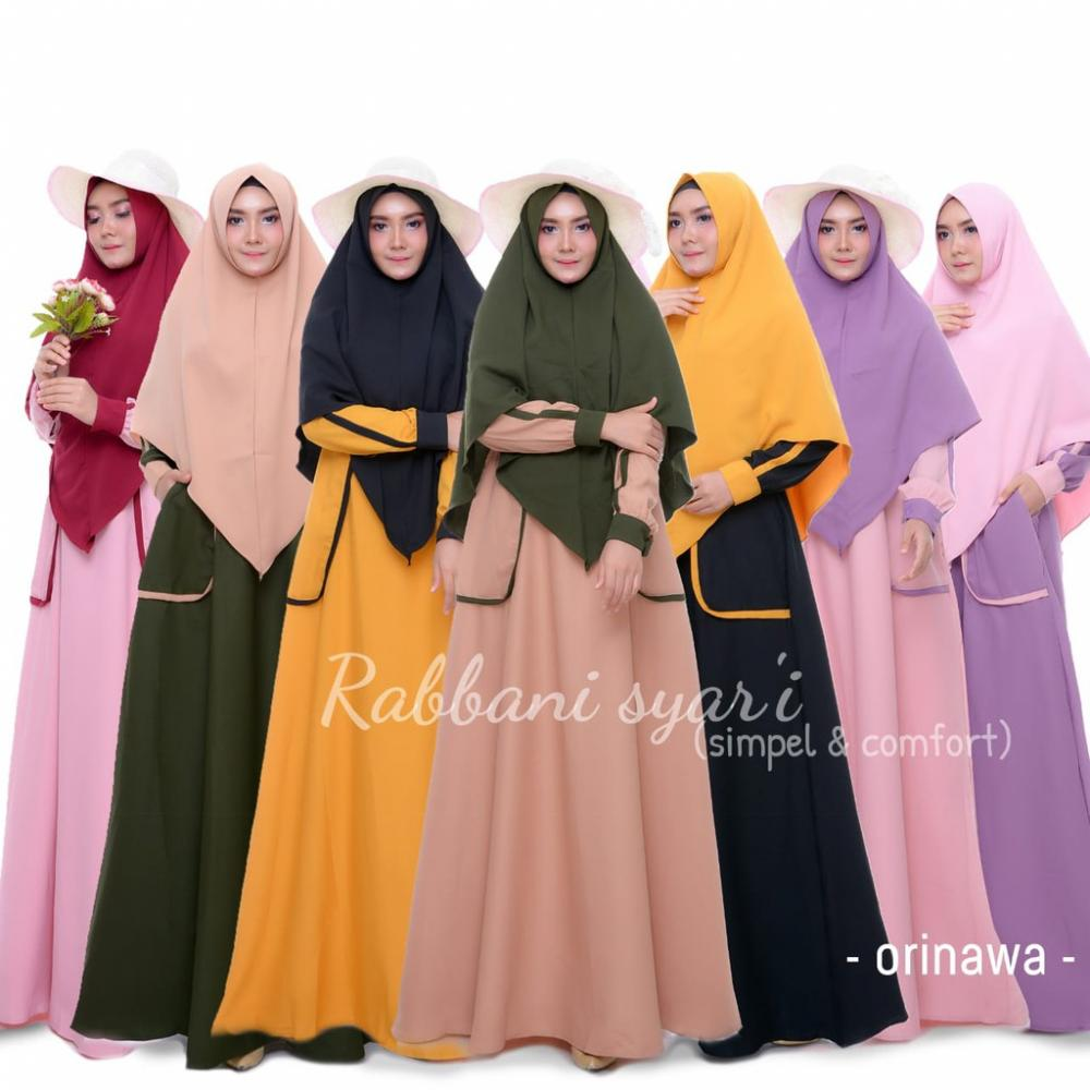 Beberapa Model Baju Muslim Modern Rabbani Kekinian