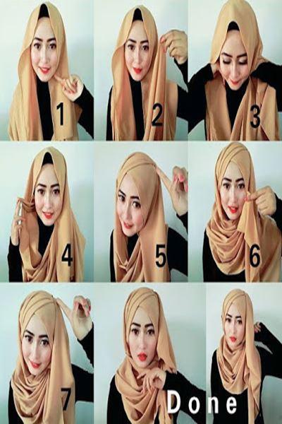 Beberapa Tutorial Hijab Kebaya yang Cantik