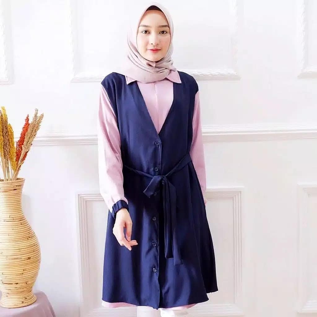Model Baju Atasan Wanita Muslim Casual