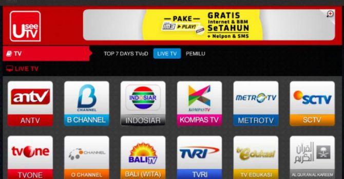 4. Ciri Aplikasi Nonton Tv